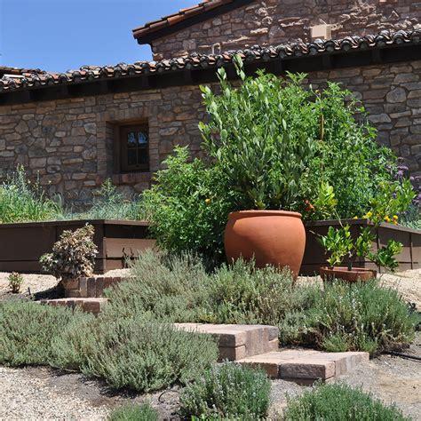 mediterranean style gardens mccabe s landscape construction