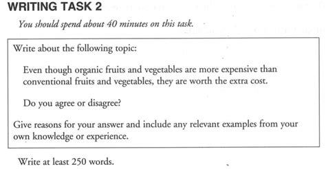 Ielts Essay Question by Essay Writing Exles For Ielts