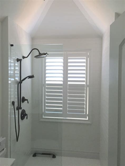 plantation shutters for bathroom