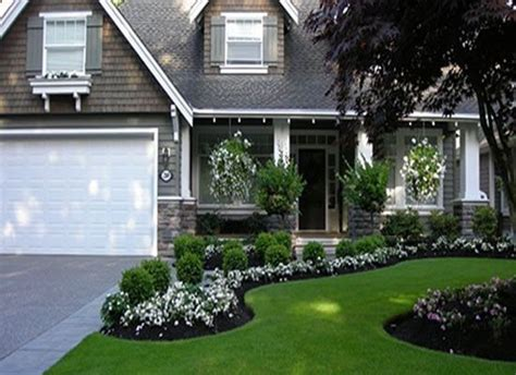 charming low maintenance landscaping ideas for front yard front yard garden design curb appeal pinterest