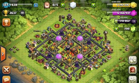 layout editor coc defense base at th 10 pic 33 gamatrix coc th 10