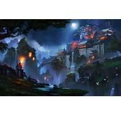 Wallpaper Landscape Korea Medieval Paint Light China