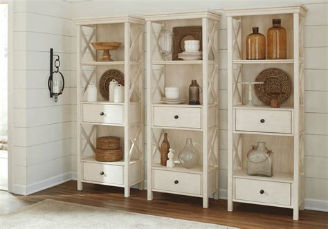 White Dining Room Display Cabinets Bolanburg White Gray Display Cabinet Louisville
