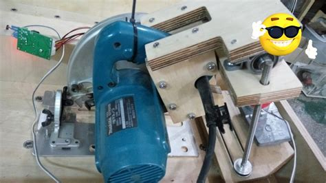 table saw with automatic stop home made tablesaw lift makita 5740nb auto lift part1