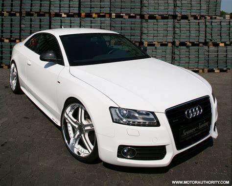 Audi A5 In White by 300hp Senner Tuning Audi A5 White Speed Tdi