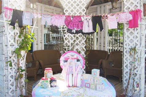 and patterns baby shower decoration idea