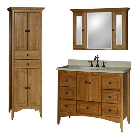 Farmhouse Style Bathroom Vanity Farmhouse Basic Bathroom Vanity Set At Hayneedle