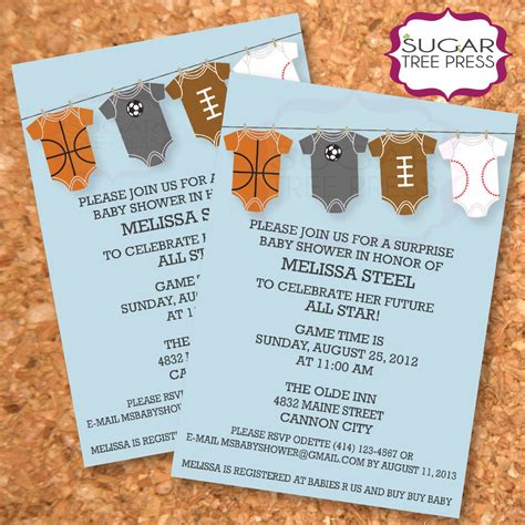 Template Pumpkin Baby Shower Invitations Basketball Baby Shower Invitation Templates