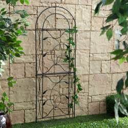 Black Garden Trellis Coral Coast Willow Creek Metal Trellis Black Trellises