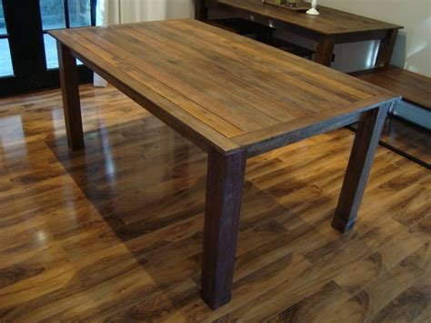 rustic dining table home interior and furniture ideas