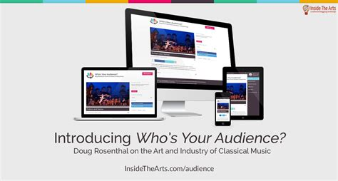 Whos Your Audience introducing inside the arts newest who s your