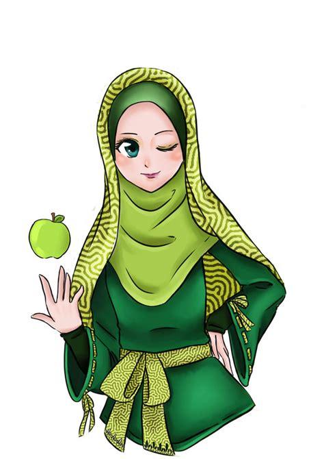 anime hijab cadar applemints hijab by diddywut on deviantart