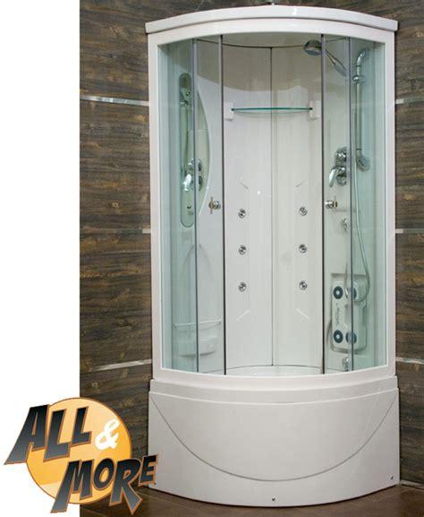cabina box doccia all more it cabina idromassaggio trasparente 80x120