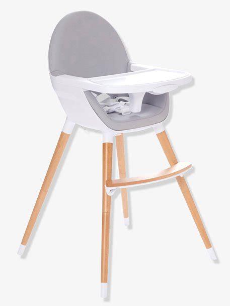 chaise haute vertbaudet chaise haute 233 volutive 2 hauteurs topseat gris vertbaudet
