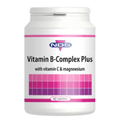 Vitamin B Complex Plus nds vitamin b complex plus