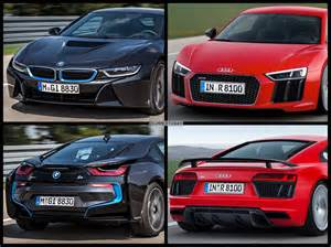 Bmw Vs Audi Would You Buy The Bmw I8 Or The Audi R8