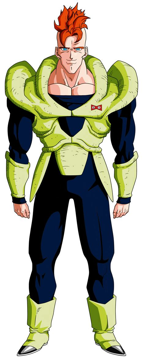 z android 16 androide 16 by feeh05051995 on deviantart