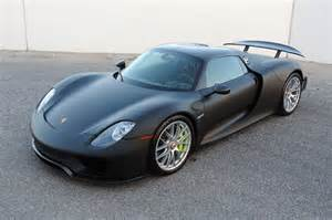 Porsche 918 Spyder For Sale Unpainted Porsche 918 Spyder Up For Sale