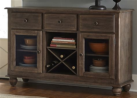 Weathered Furniture by Candlewood Server In Weathered Finish By Liberty Furniture