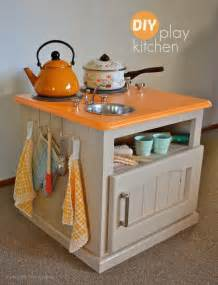 Play Kitchen From Old Furniture Diy Kids Furniture Projects Decorating Your Small Space