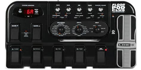 Harga Efek Gitar Floor Pod Plus mengeset sebuah multiefek yang memiliki simulator