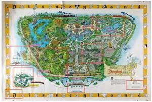 disney monorail map the 1958a disneyland map michael sandberg s data visualization