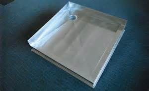 shower trays classic stainless steel