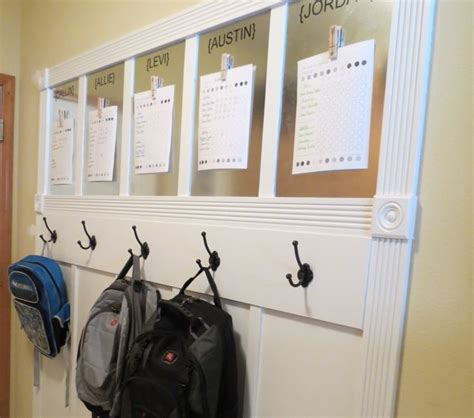 ideas for hanging backpacks spring cleaning bash laundry room craft storage