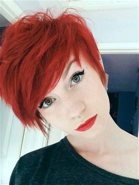 boyish haircuts on redheaded women with blunt front bangs 16 great short shaggy haircuts for women pretty designs