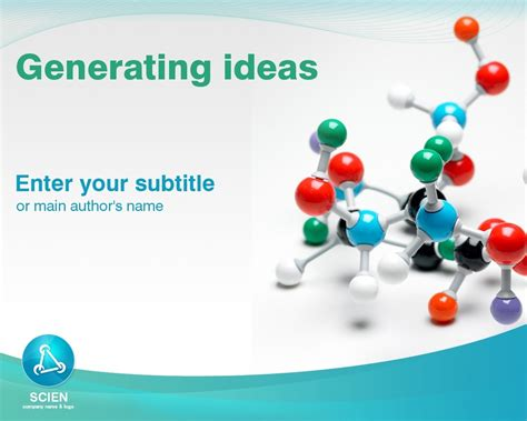 ppt themes science science powerpoint template 25147
