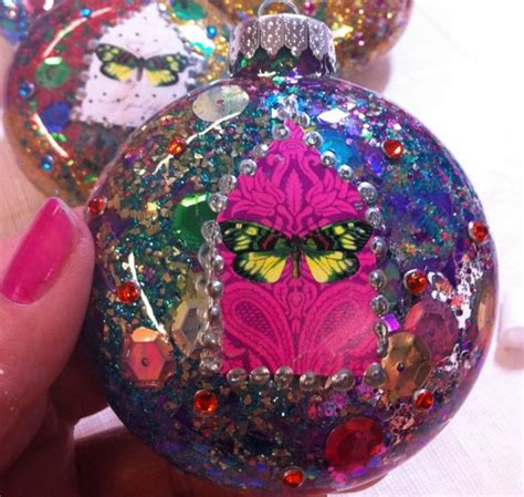 how to decorate glass ornaments for 39 ways to decorate a glass ornament