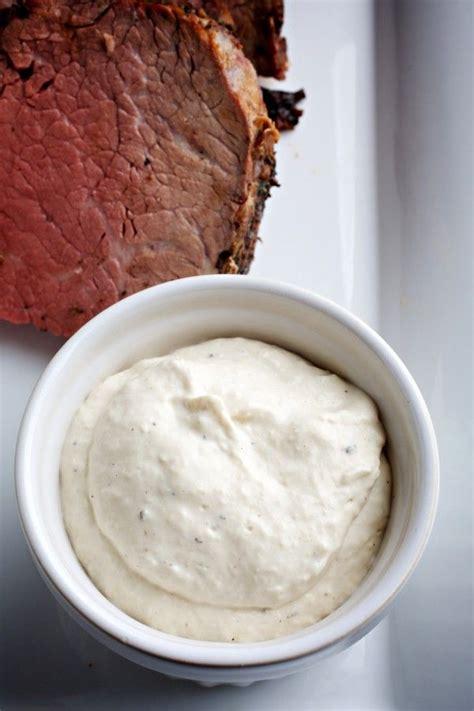 horseradish sauce for beef horseradish sauce recipe dishmaps