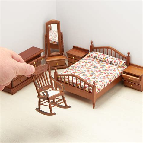 dollhouse bedroom set dollhouse miniature bedroom set bedroom miniatures