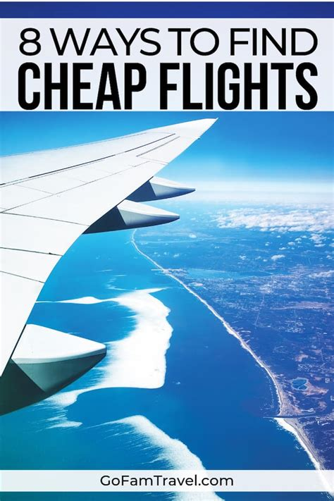 8 of the best ways to find cheap flights save money and travel more