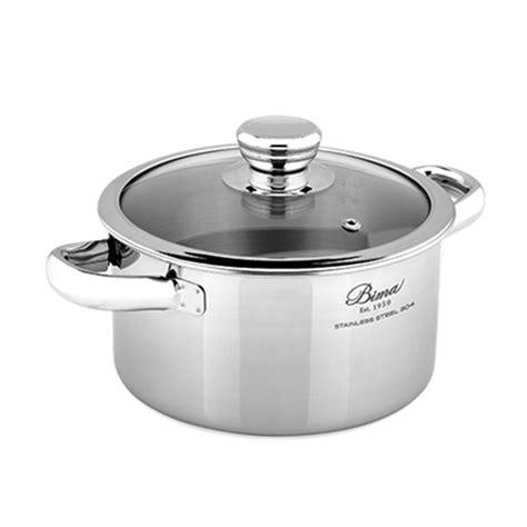 Panci Stainless Steel Bima jual panci bima origin classic saucepot b2001216 murah