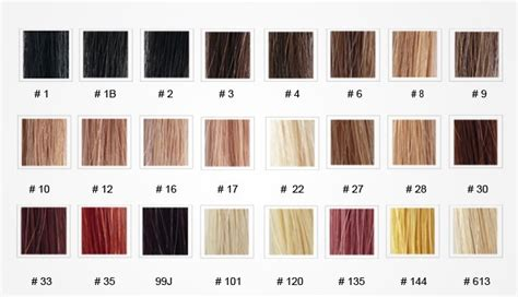 weave hair color chart the gallery for gt weave hair color chart