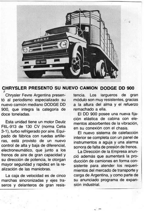 Camión Argentino: Dodge DD-900