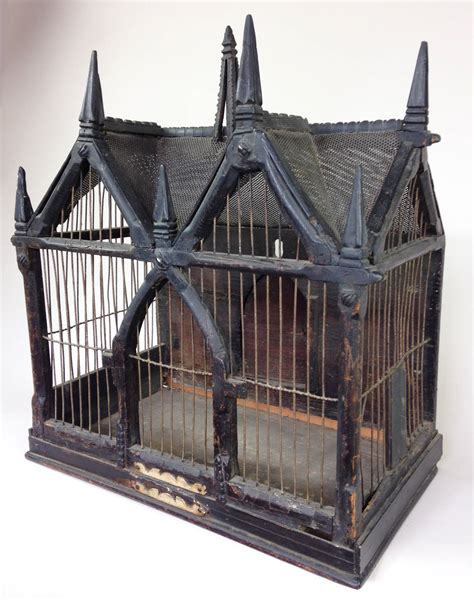 19th century victorian song bird cage in a gothic style at 1stdibs