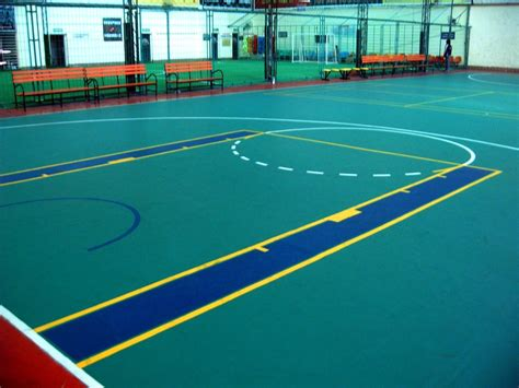 Basketball Court Plastic Flooring by Shijiazhuang Yichen Sports Plastic Floor Co Ltd