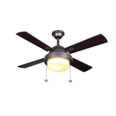 Hton Bay 42 Inch Ceiling Fan by Hton Bay Minna 42 In Black Indoor Ceiling Fan He 12026