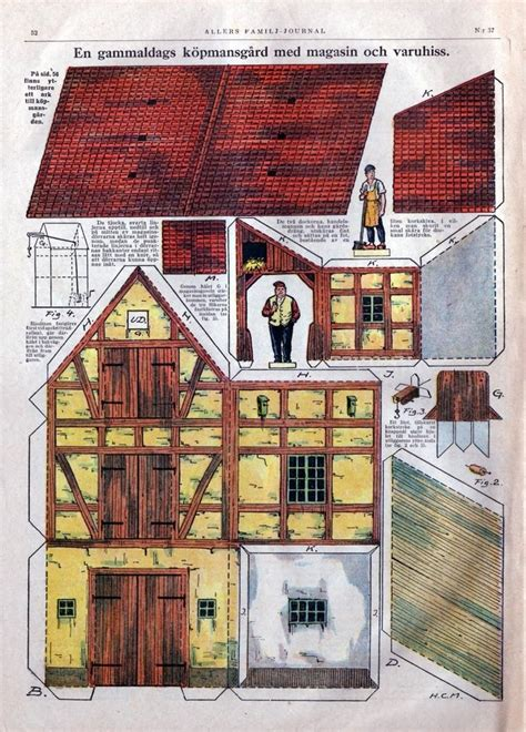 1000 Images About Papercraft Houses On Model - 1000 images about fensterdeko on paper models