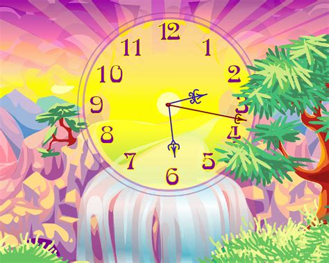 themes clock gratuit live motion wallpapers free pc wallpapersafari