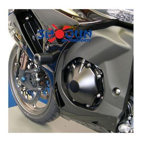 Frameslider Bikers Ninja250f1 Black shogun frame sliders suzuki gsxr1000 2012 2016 revzilla