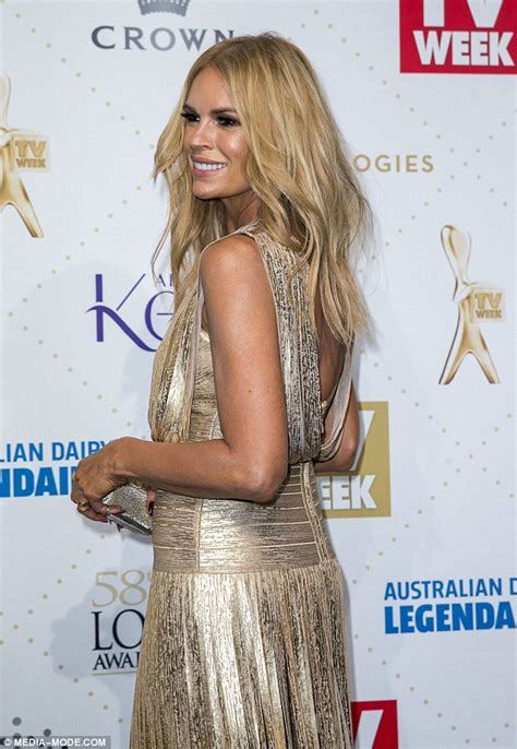 logie awards dress caused sonia kruger problems going to
