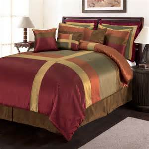 red and gold comforter sets bellacor red and gold