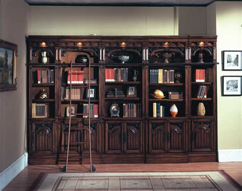 Home Library Bookcases house barcelona library bookcases bar420 430 6 homelement