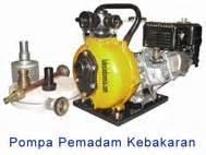Pompa Teral Pompa Portable Pemadam Kebakaran