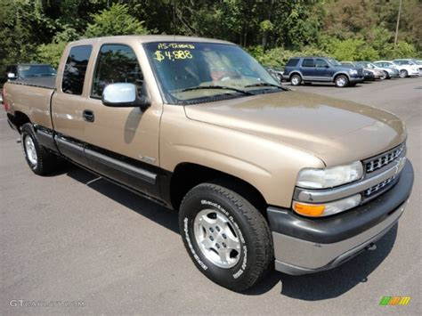 Black And Gold Ls by 1999 Sunset Gold Metallic Chevrolet Silverado 1500 Ls