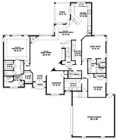 3500 square feet european style house plans 3500 square foot home 2