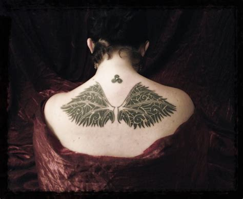 broken wing tattoo broken wings design tattooshunt